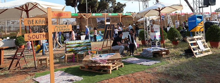 Travel Lebanon - The Garden Show and Spring Festival 2020
